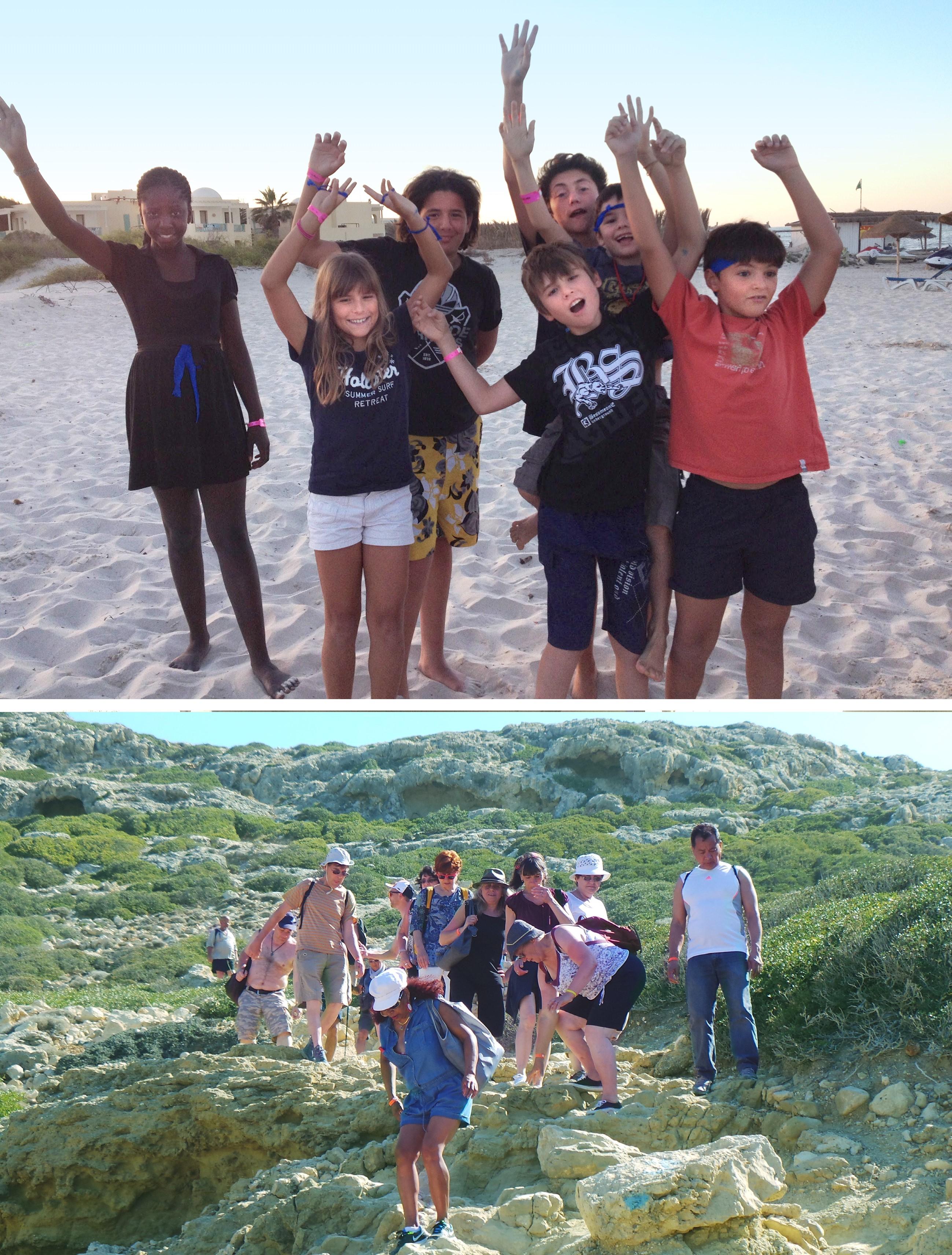 Enfants plages